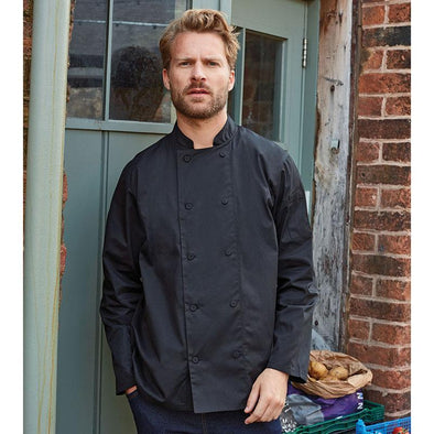 Chefs Coolchecker Long Sleeve Jacket Chefs Jacket Premier