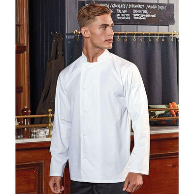 Chefs Essential Long Sleeve Jacket Chefs Jacket Premier