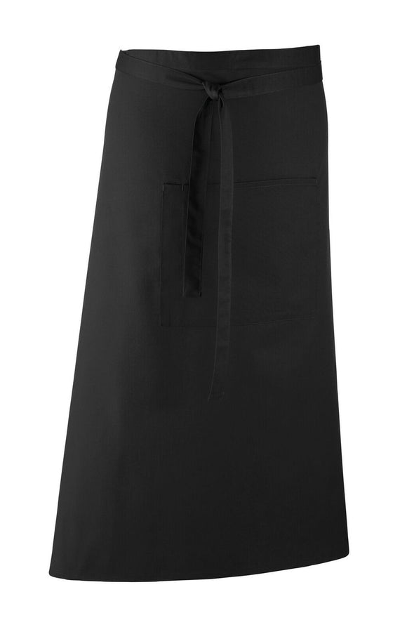 Colours Bar Apron Aprons Premier Black