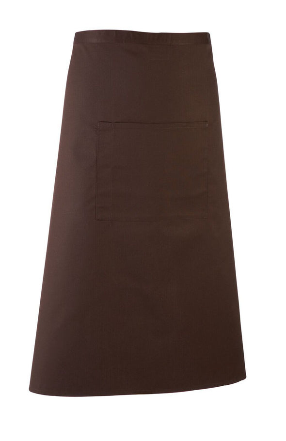 Colours Bar Apron Aprons Premier Brown