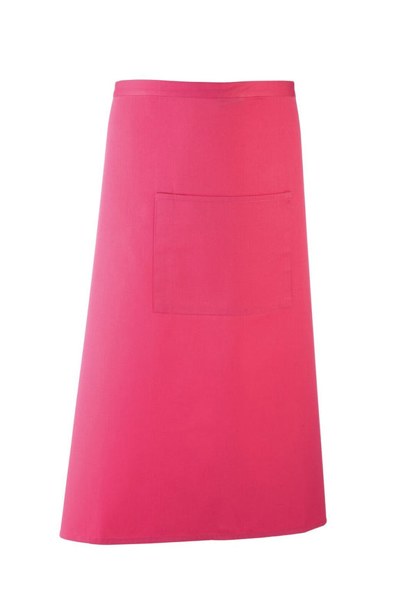 Colours Bar Apron Aprons Premier Hot Pink