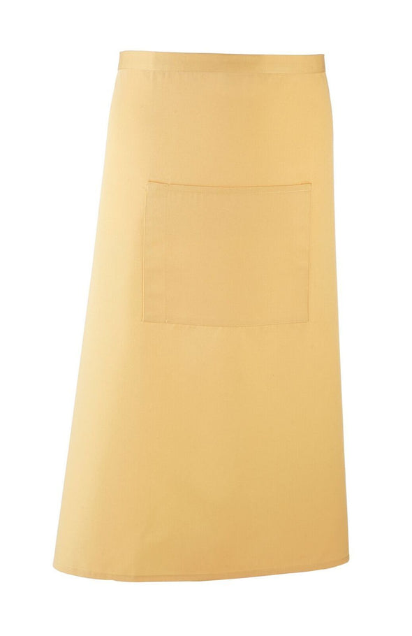 Colours Bar Apron Aprons Premier Lemon