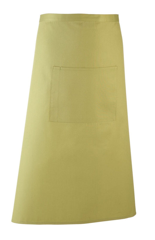Colours Bar Apron Aprons Premier Lime