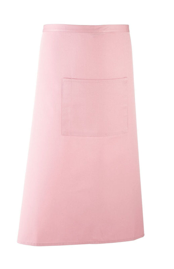 Colours Bar Apron Aprons Premier Pink