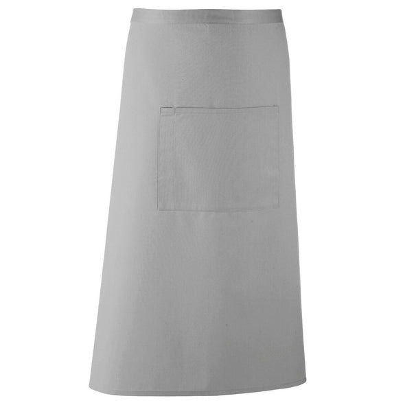 Colours Bar Apron Aprons Premier Silver