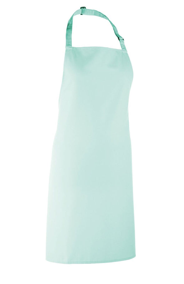 Colours Bib Apron - No pocket Aprons Premier Aqua