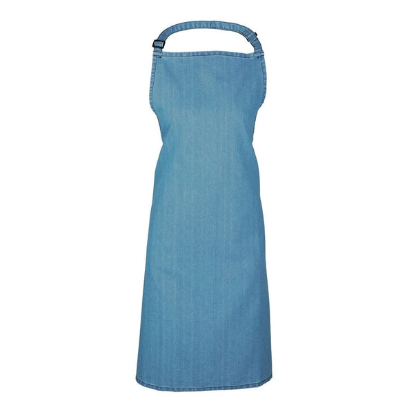 Colours Bib Apron - No pocket Aprons Premier Blue Denim