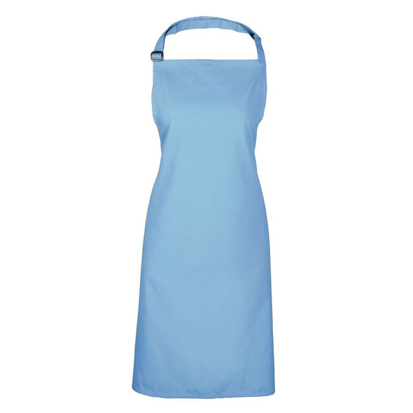 Colours Bib Apron - No pocket Aprons Premier Cornflower