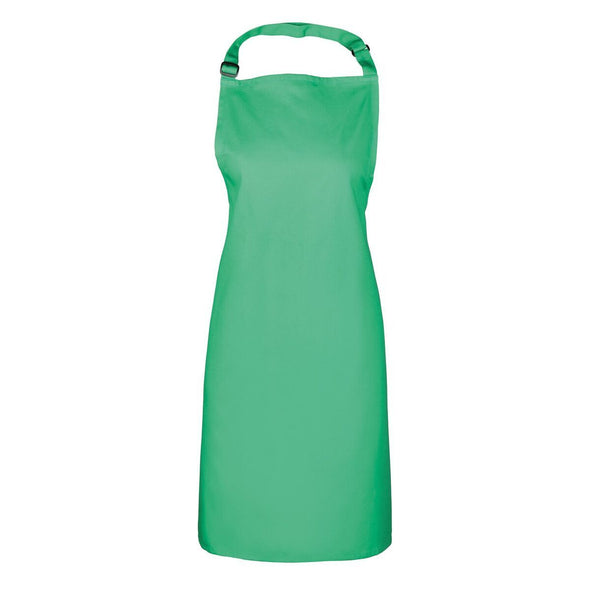 Colours Bib Apron - No pocket Aprons Premier Kelly