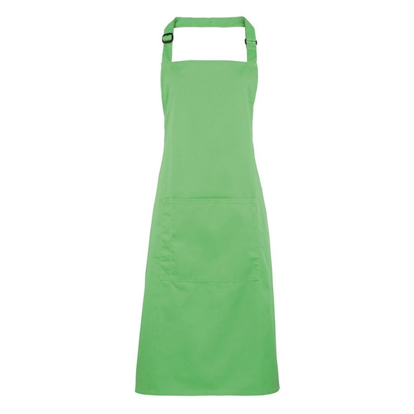 Colours Bib Apron - with Pocket Aprons Premier Apple