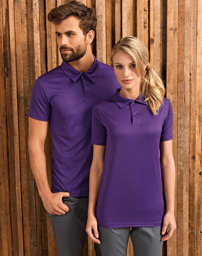 Coolchecker Studded Polo Hospitality T-Shirts Premier