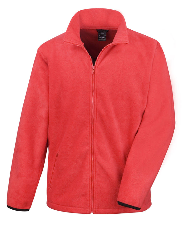 Core Fashion Fit Outdoor Fleece Mens Fleeces Result Core Flame Red S