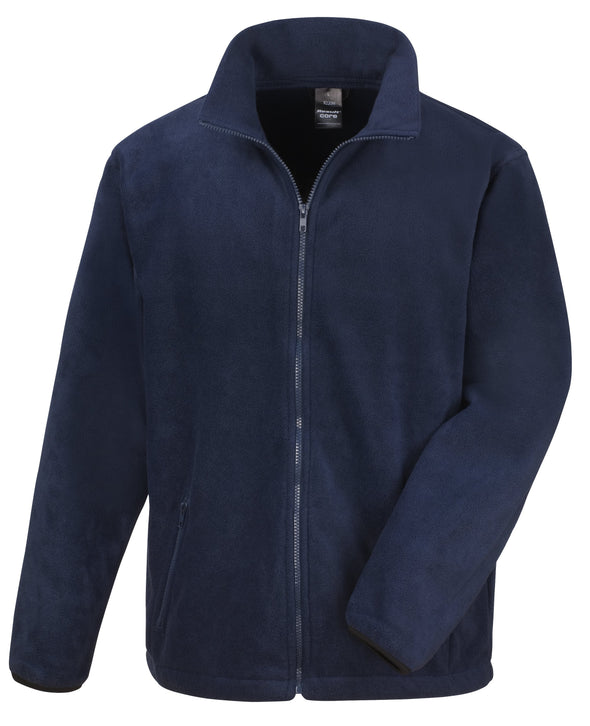 Core Fashion Fit Outdoor Fleece Mens Fleeces Result Core Navy XS