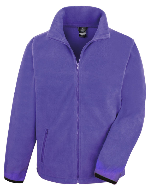 Core Fashion Fit Outdoor Fleece Mens Fleeces Result Core Purple XS