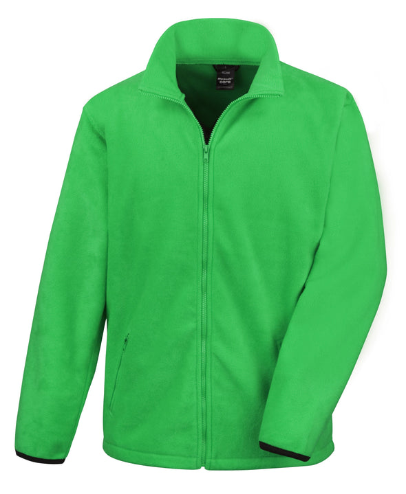 Core Fashion Fit Outdoor Fleece Mens Fleeces Result Core Vivid Green S