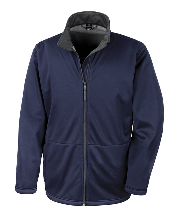 Core Softshell Jacket Mens Softshell Jackets Result Core Navy XS