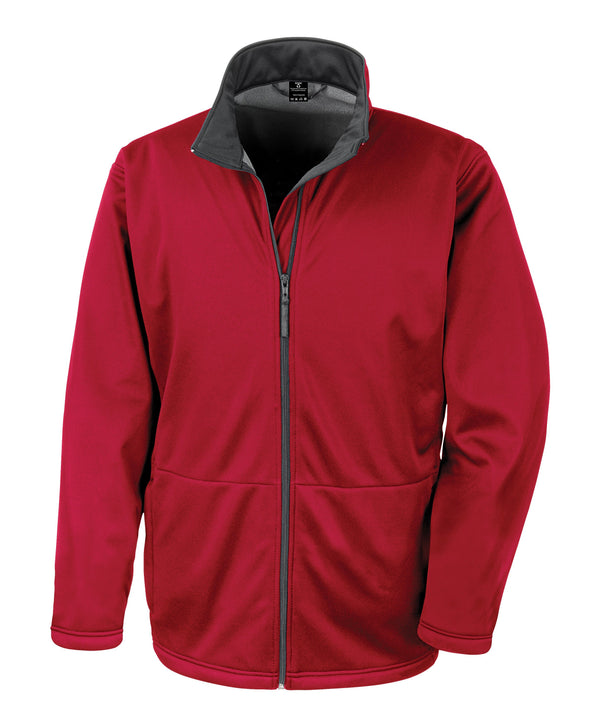 Core Softshell Jacket Mens Softshell Jackets Result Core Red XS