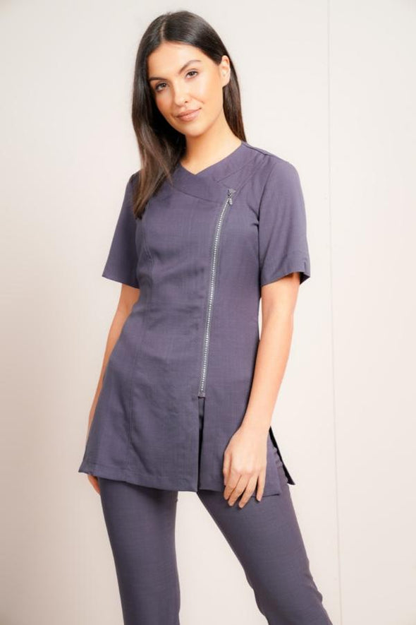 Diamante Tunic Beauty Tunics La Beeby Grey 6