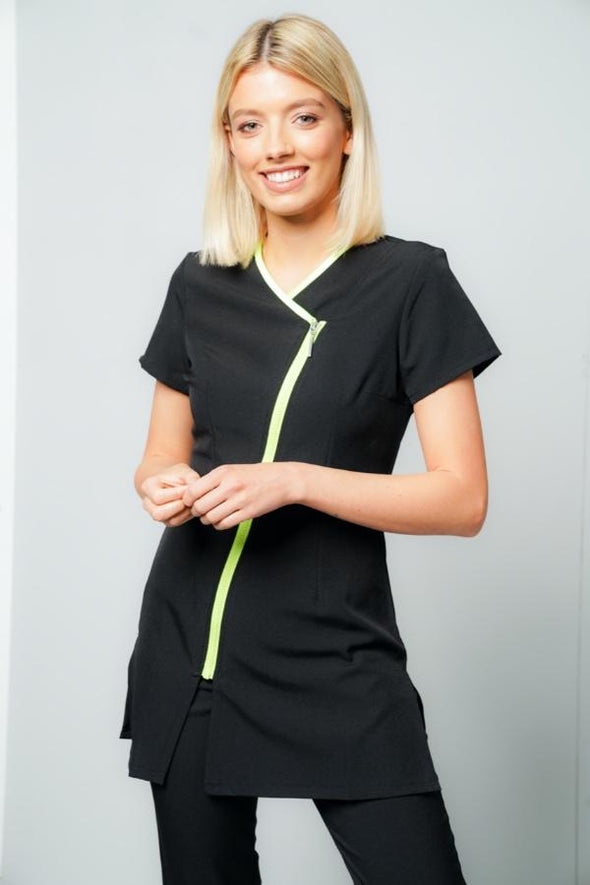 Eve Tunic Beauty Tunics La Beeby Black/Lime 6