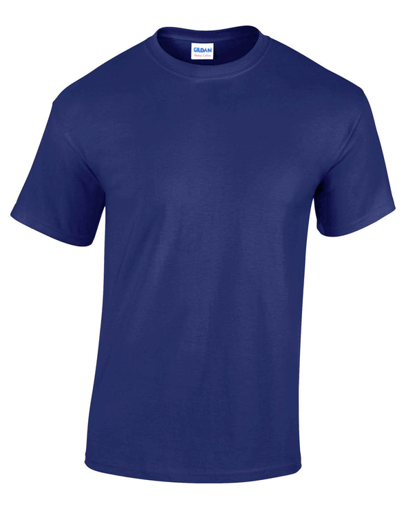 GD005 - Heavy Cotton T-Shirt Mens T-Shirts Gildan Cobalt S