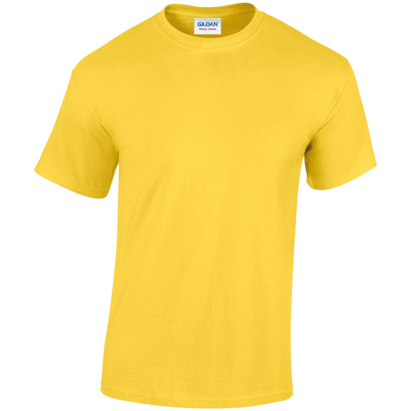 GD005 - Heavy Cotton T-Shirt Mens T-Shirts Gildan Daisy S
