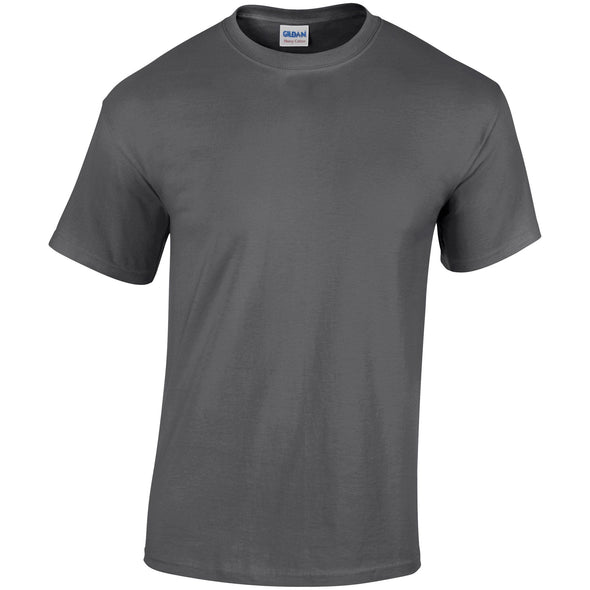 GD005 - Heavy Cotton T-Shirt Mens T-Shirts Gildan Dark Heather S