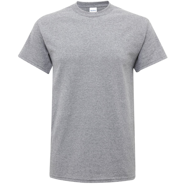 GD005 - Heavy Cotton T-Shirt Mens T-Shirts Gildan Graphite Heather S
