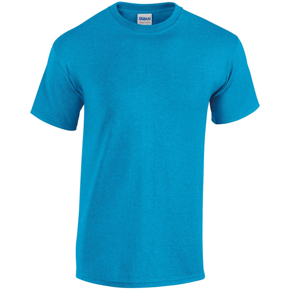 GD005 - Heavy Cotton T-Shirt Mens T-Shirts Gildan Heather Sapphire S
