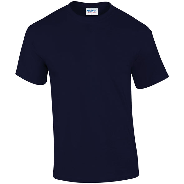 GD005 - Heavy Cotton T-Shirt Mens T-Shirts Gildan Navy S