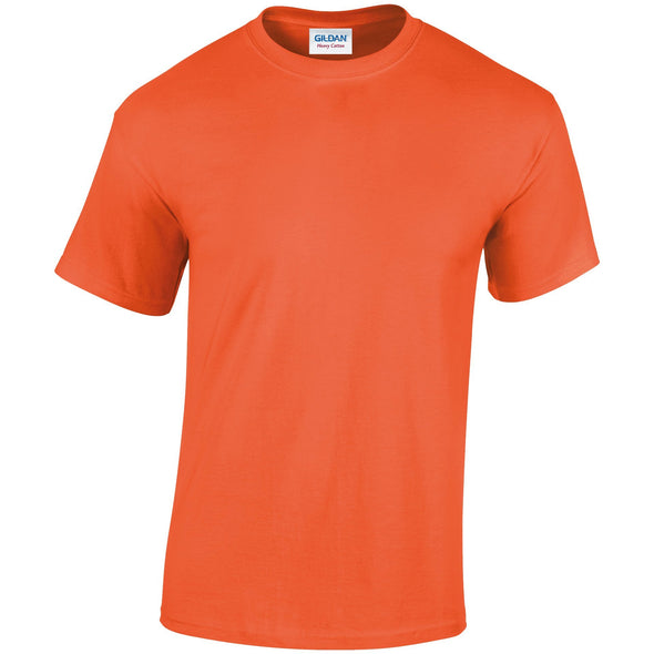 GD005 - Heavy Cotton T-Shirt Mens T-Shirts Gildan Orange S