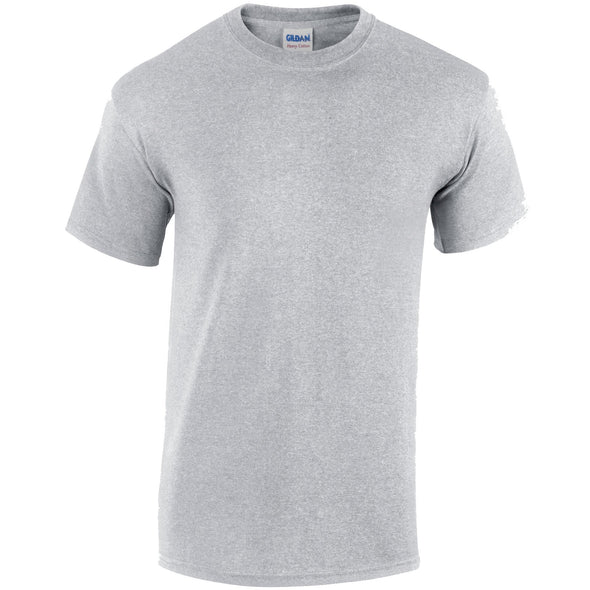 GD005 - Heavy Cotton T-Shirt Mens T-Shirts Gildan Sport Grey S