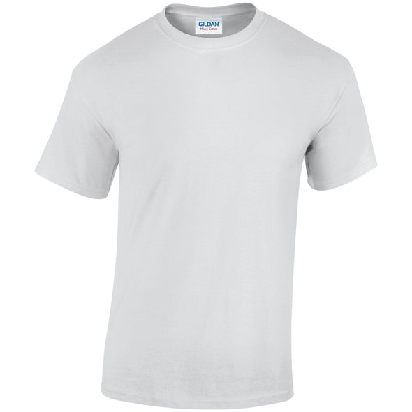 GD005 - Heavy Cotton T-Shirt Mens T-Shirts Gildan White S