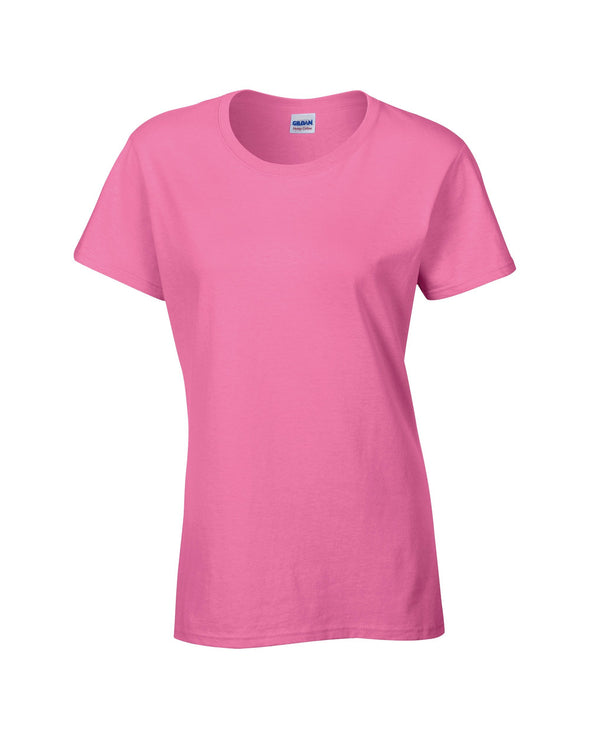 GD006 - Heavy Cotton Womens T-Shirt Womens T-Shirts Gildan Azalea S