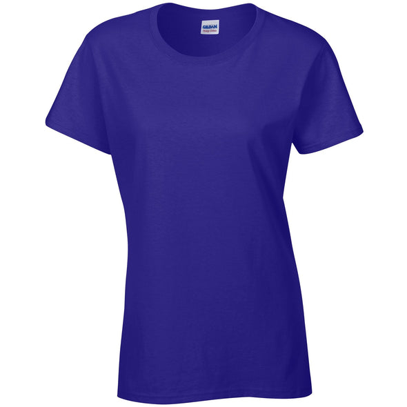 GD006 - Heavy Cotton Womens T-Shirt Womens T-Shirts Gildan Cobalt S