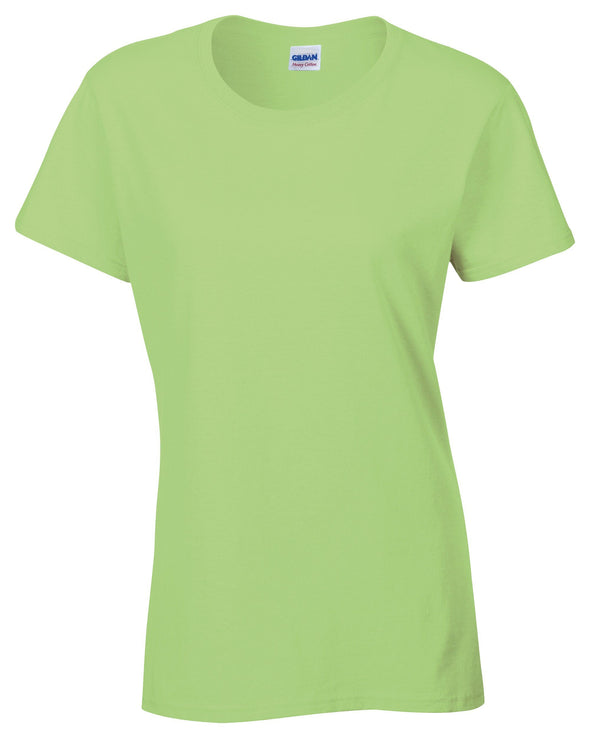 GD006 - Heavy Cotton Womens T-Shirt Womens T-Shirts Gildan Mint Green S
