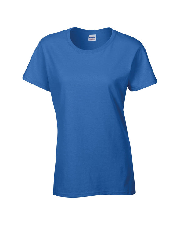 GD006 - Heavy Cotton Womens T-Shirt Womens T-Shirts Gildan Royal S