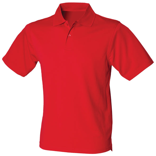 HB475 - Coolplus Polo Mens Polos Henbury Classic Red XS