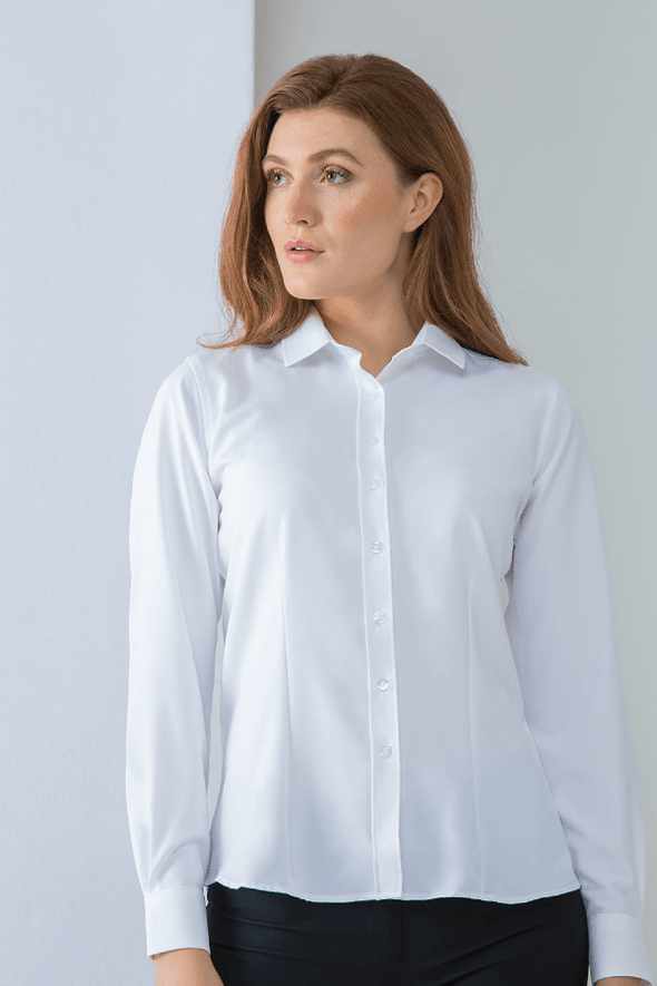 HB591 - Wicking Antibacterial Shirt Womens Long Sleeve Shirts Henbury