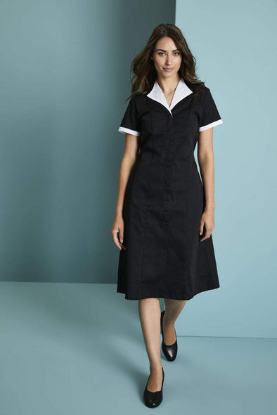 Housekeeping Dress Housekeeping Simon Jersey Black/White 8