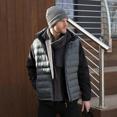 Ice Bird Padded Gilet Mens Bodywarmers Result Urban