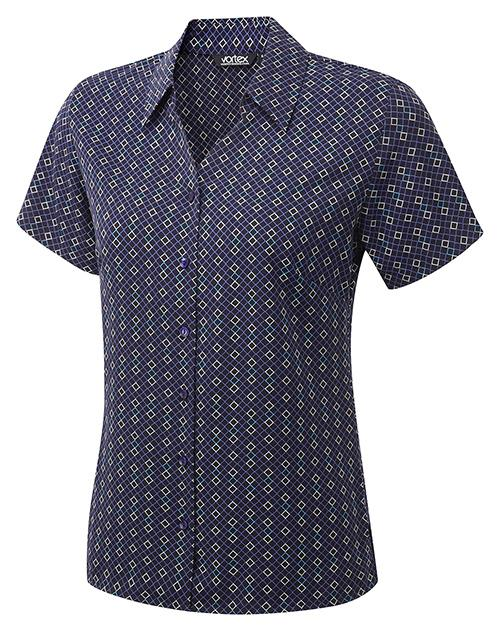 Ingrid Blouse Blouses Vortex Designs Navy 6