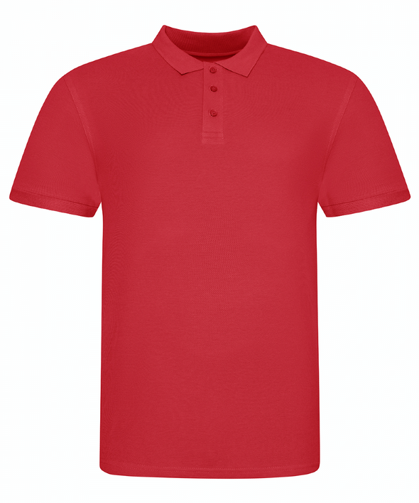 JP100 - The 100 Polo Mens Polos AWDis Just Polos Fire Red S