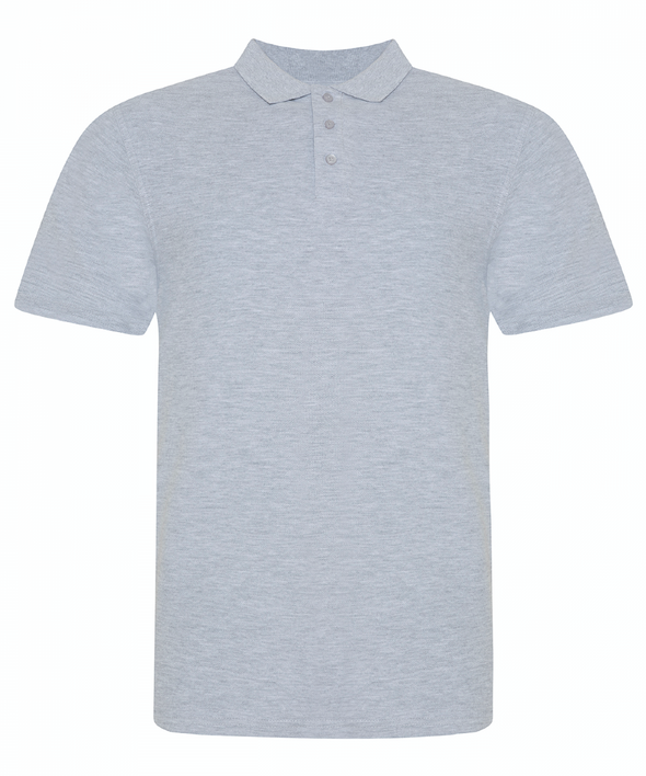 JP100 - The 100 Polo Mens Polos AWDis Just Polos Heather Grey S