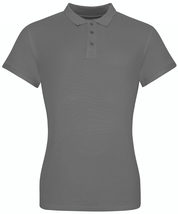JP10F - The 100 Girlie Polo Womens Polos AWDis Just Polos Charcoal XS