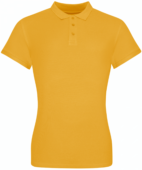 JP10F - The 100 Girlie Polo Womens Polos AWDis Just Polos Mustard XS