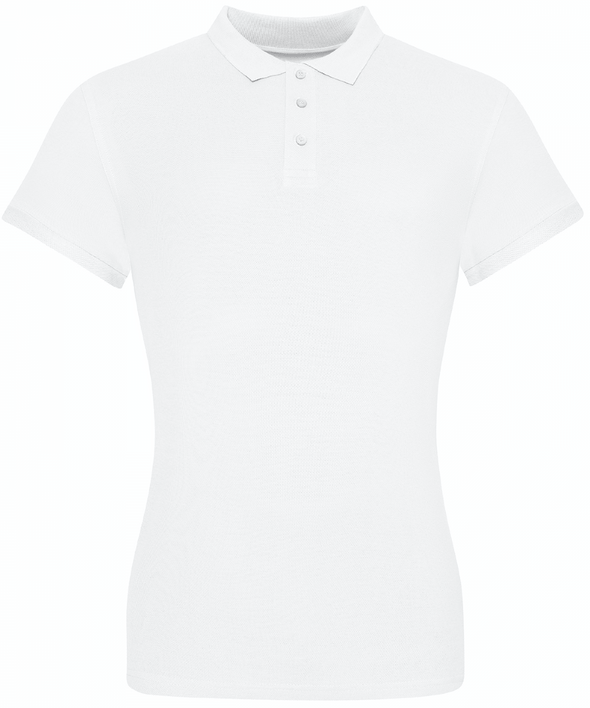 JP10F - The 100 Girlie Polo Womens Polos AWDis Just Polos White XS