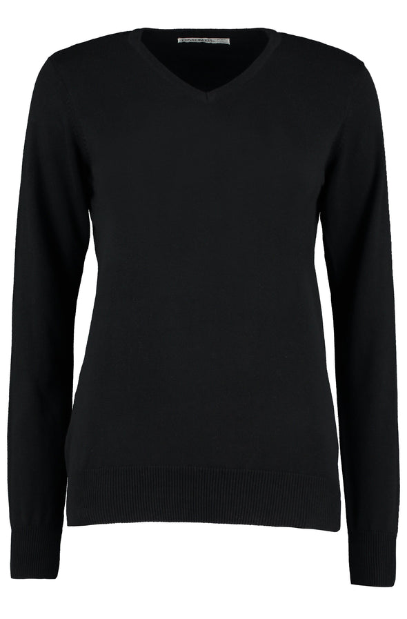 KK353 - Arundel Sweater Womens Knitwear Kustom Kit Black 6