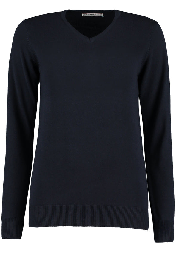 KK353 - Arundel Sweater Womens Knitwear Kustom Kit Navy 6