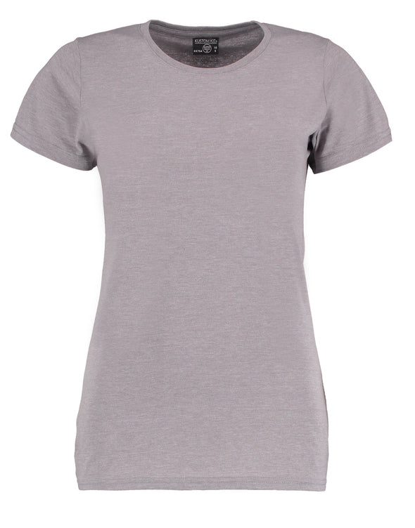 KK754 - Women's Superwash® 60° T-shirt Womens T-Shirts Kustom Kit Light Grey Marl 8