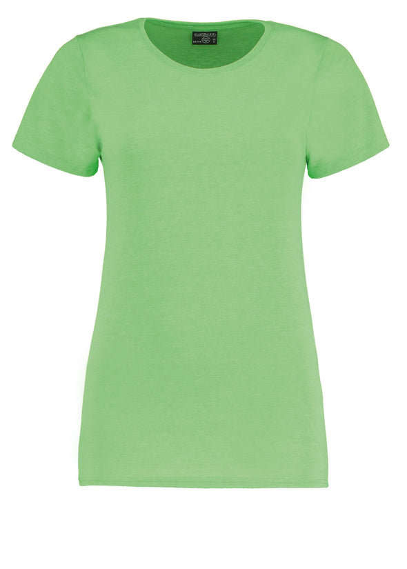 KK754 - Women's Superwash® 60° T-shirt Womens T-Shirts Kustom Kit Lime Marl 8